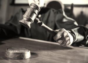 A Hawaii judge slamming his gavel down